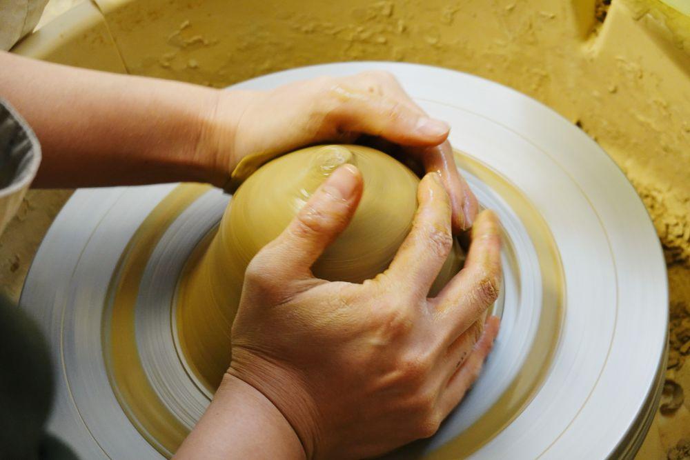 陶芸 成形