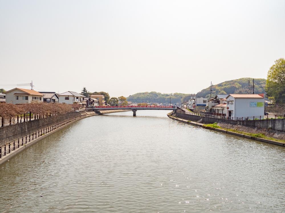 藤戸饅頭本舗:倉敷川