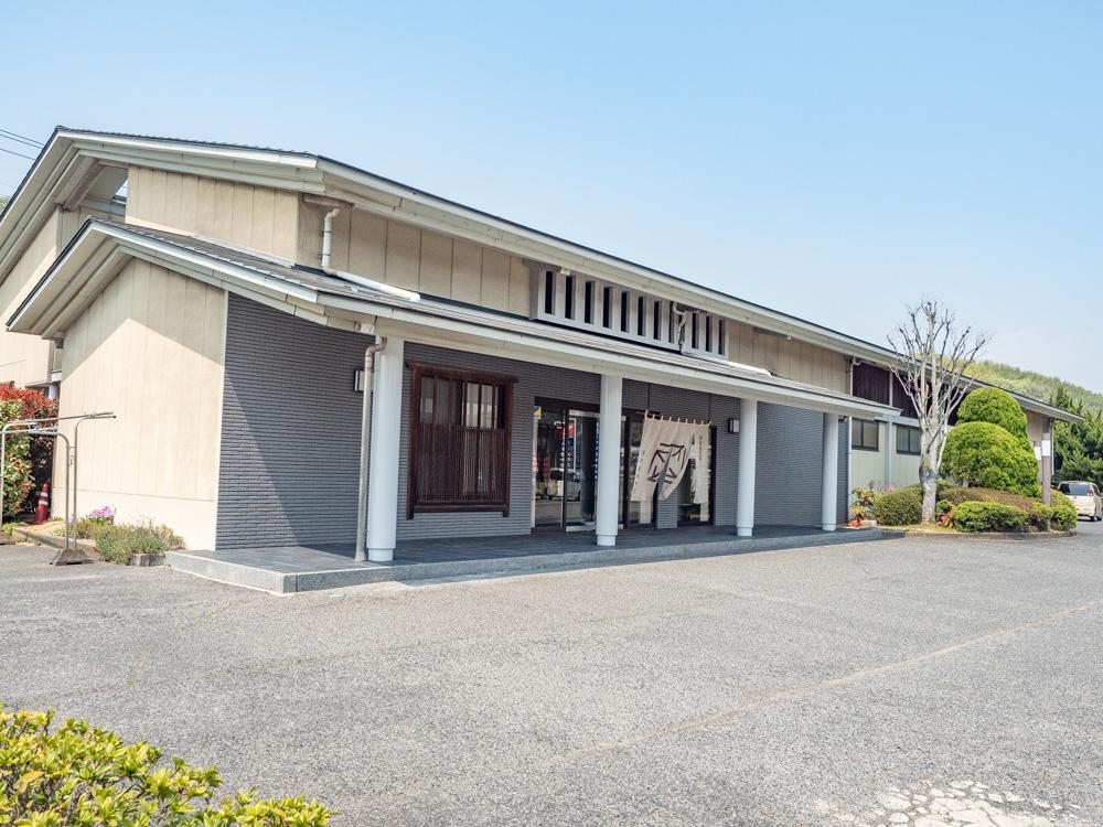 藤戸饅頭本舗:串田店の外観