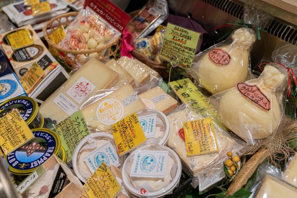 吉田牧場のチーズ