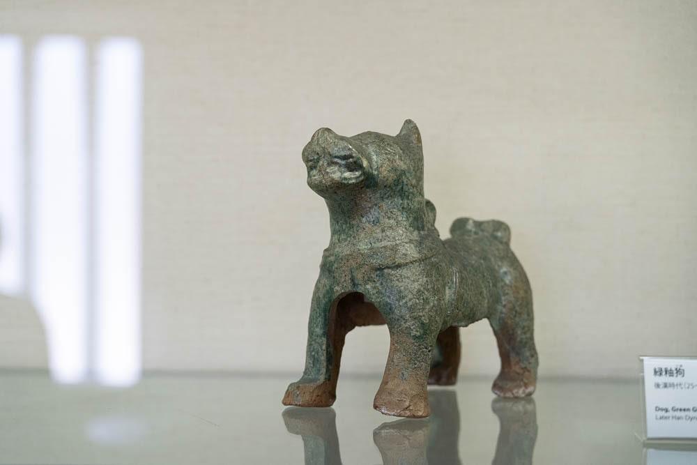 大原美術館 緑釉狗
