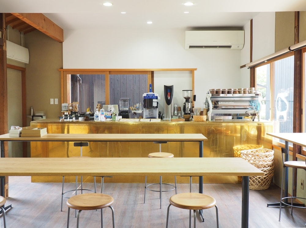 cafe2MUG 店内