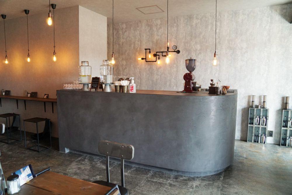CAFE BRIDGE カウンター