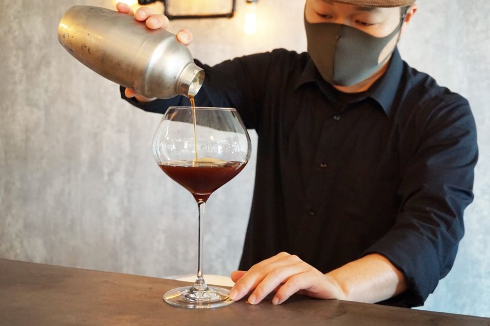 CAFE BRIDGE アイスコーヒー