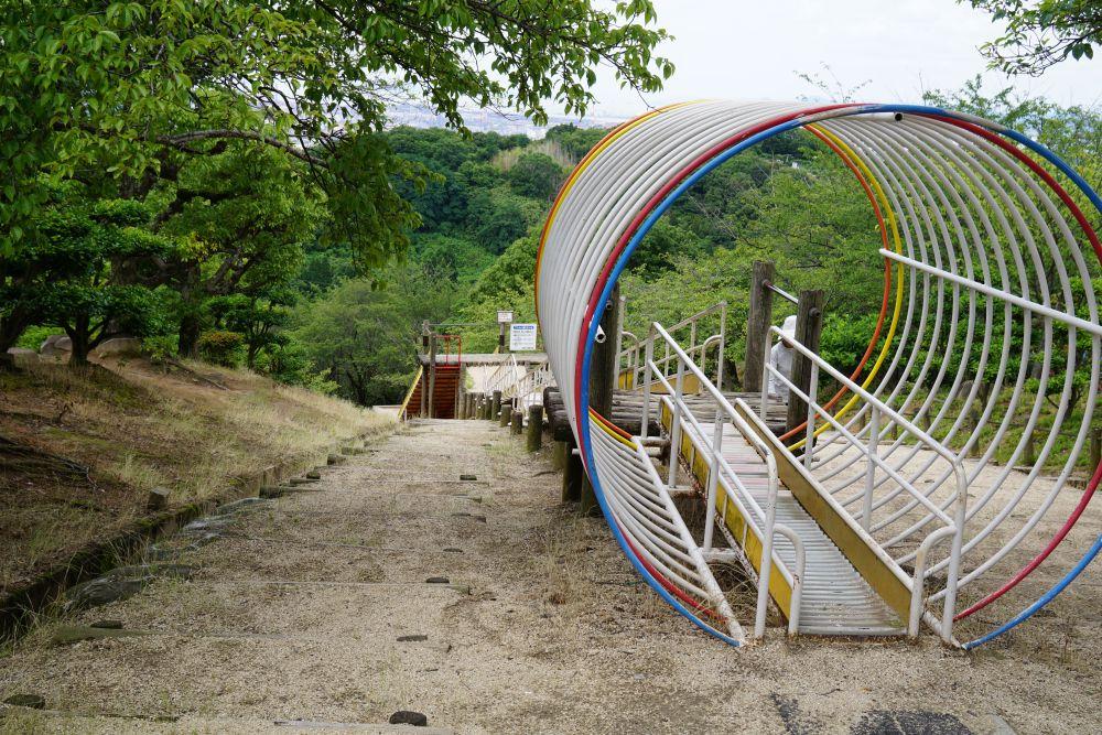 種松山公園 ローラーコースター