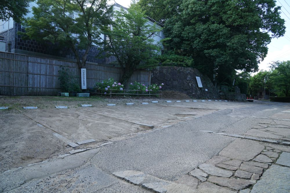 阿智神社 駐車場