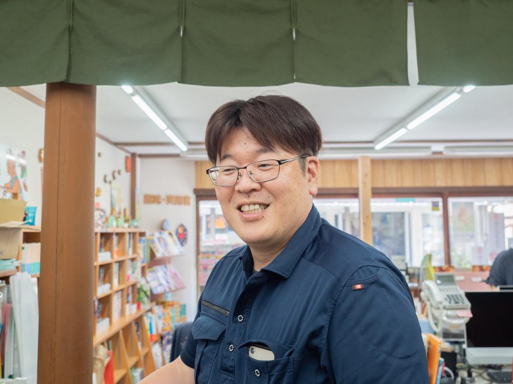 山名書店:専務取締役・山名 史晃さん