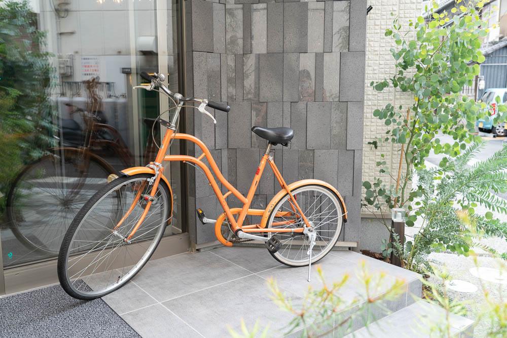 NAGI KURASHIKI HOTEL&LOUNGE 自転車