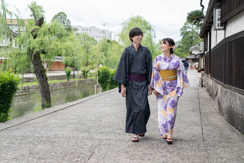 着物浪漫 ~ 手ぶら訪問OK!上品な浴衣や正絹の着物で美観地区を歩けるレンタル着物店