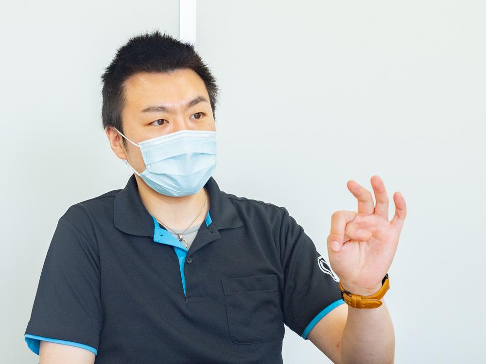 松本鉄工:代表取締役・杉原 佑友太さん