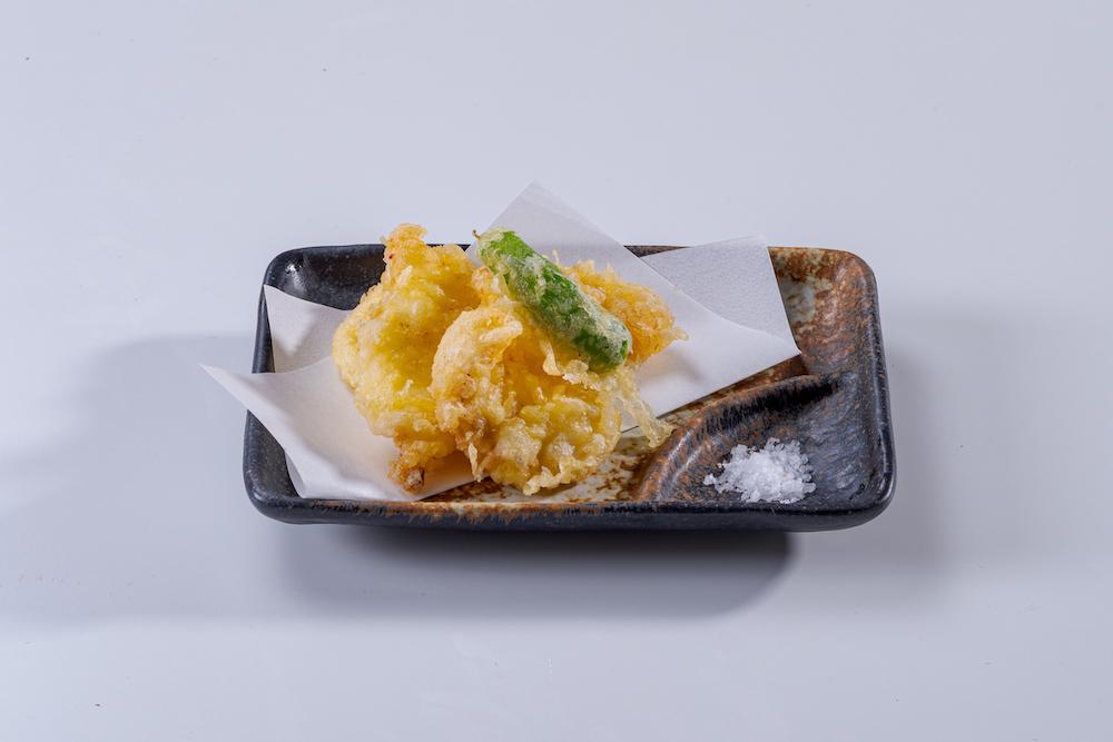 冨來屋本舗:きび膳の下津井たこの天ぷら