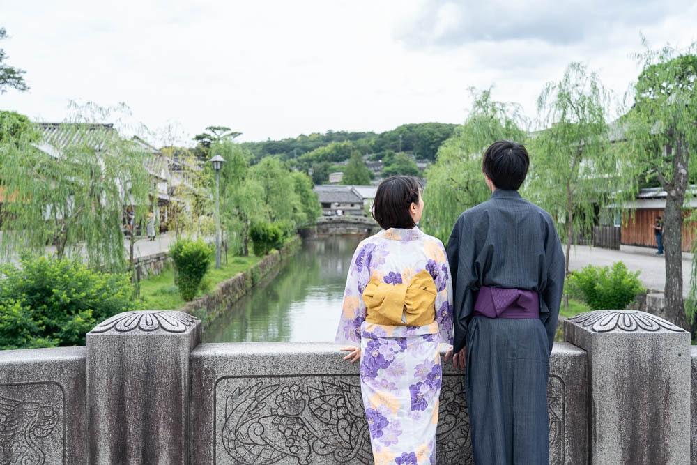 倉敷美観地区浴衣デート