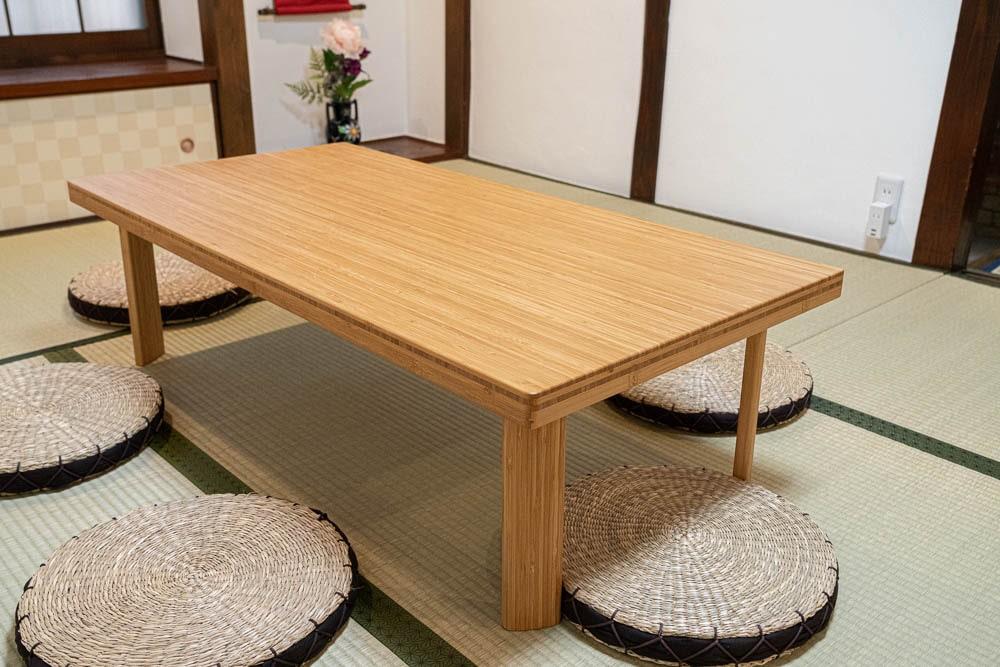くらしきカワセミ亭 TEORIのテーブル