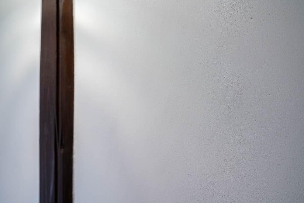 くらしきカワセミ亭 漆喰の壁