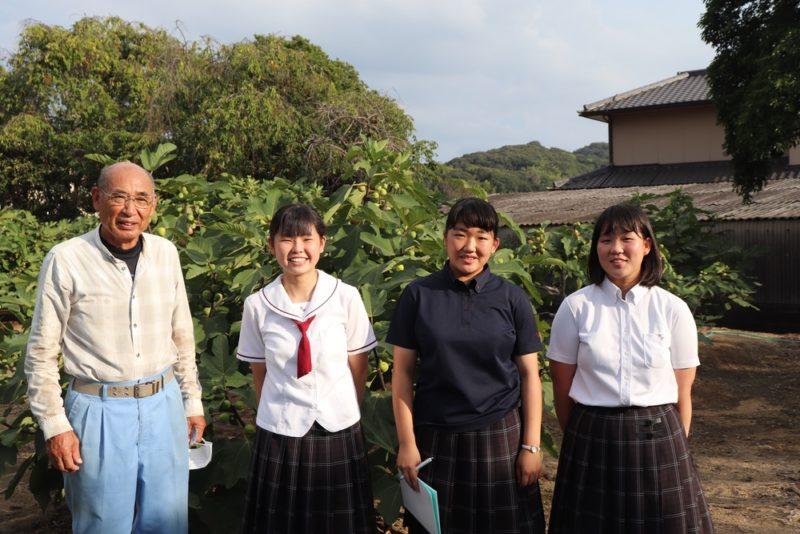 純児島産いちじくジェラート ~ 鷲羽高校の生徒が提案!コロナ禍の今こそ地元児島に注目しよう
