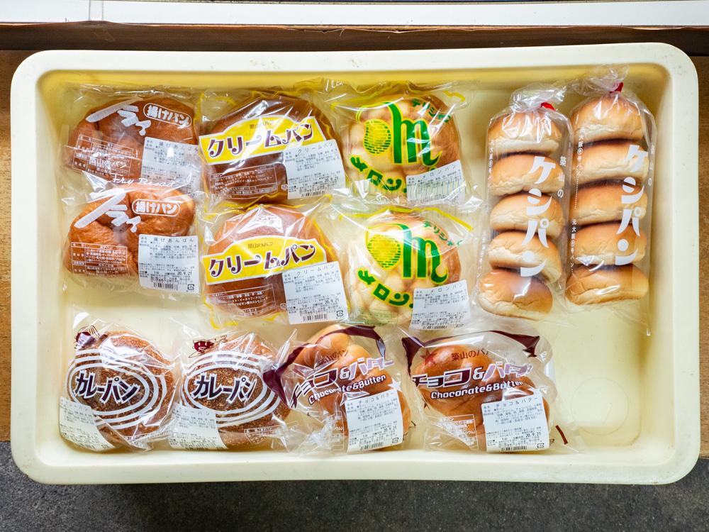 築山製パン所:商品