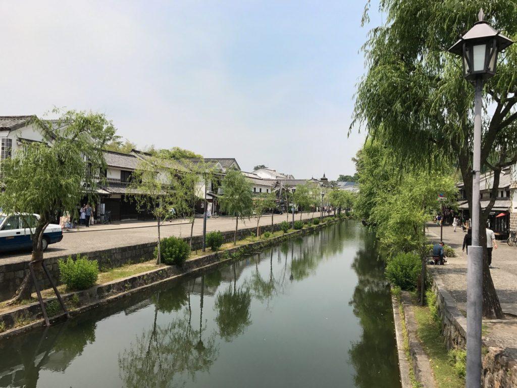 倉敷美観地区 倉敷川沿い