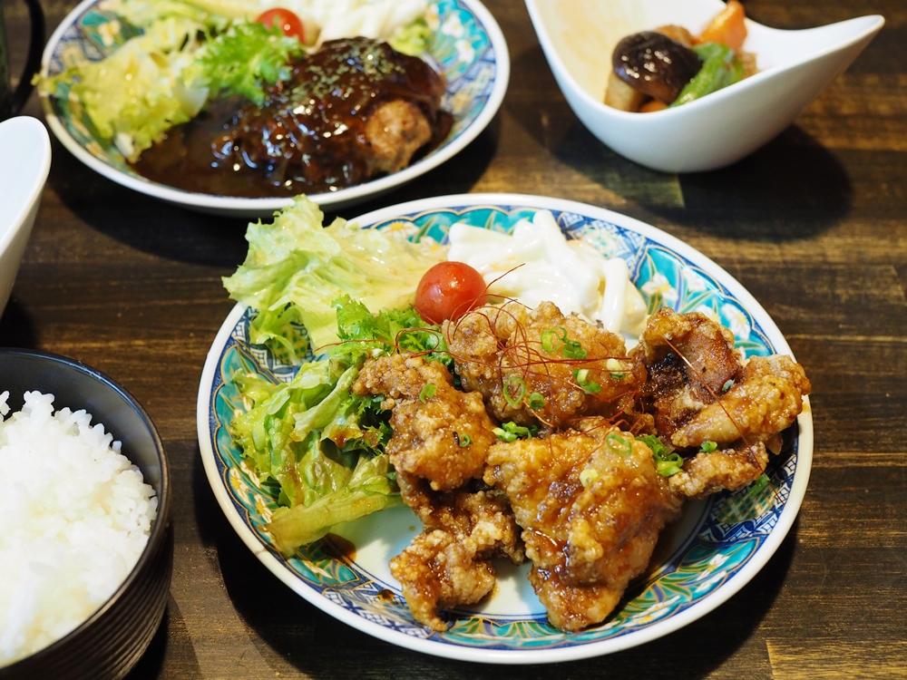 kitchen森のくまさん うま唐揚げ定食