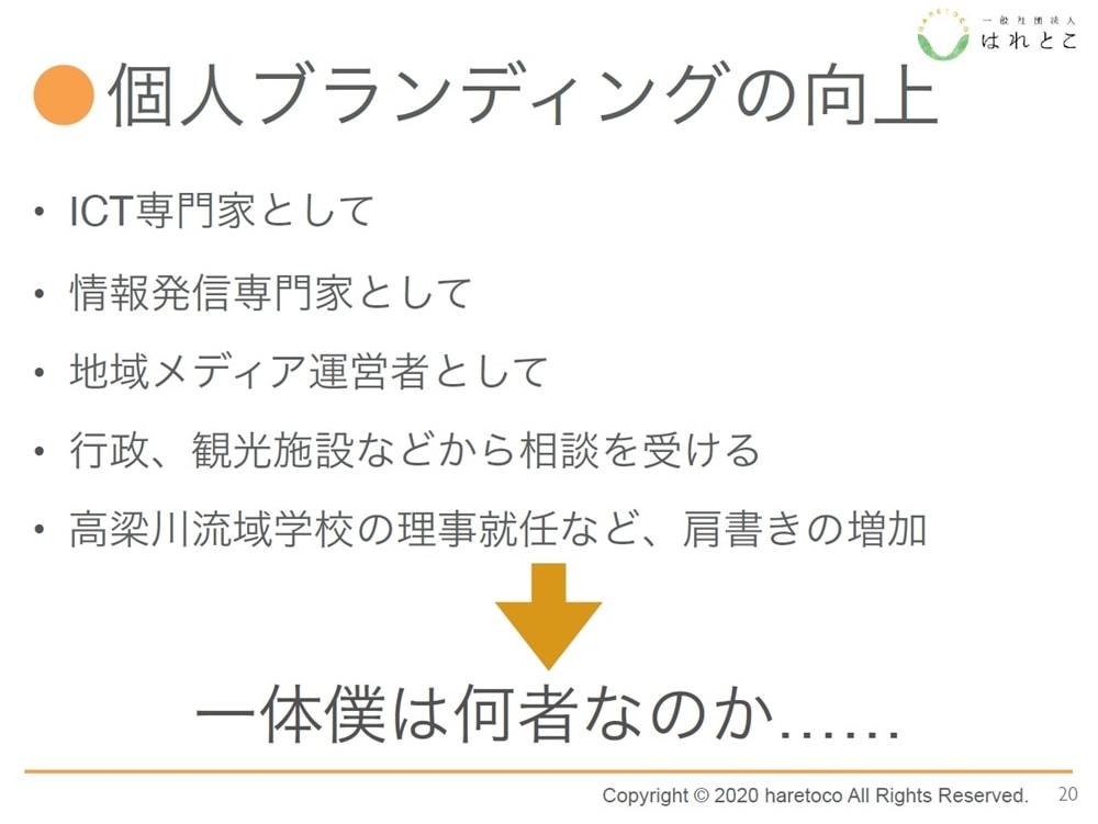 【高梁川志塾】個人ブランディングの向上