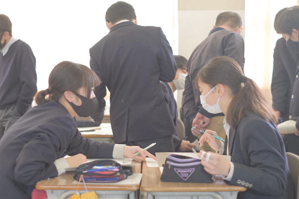 鷲羽高校 授業風景③