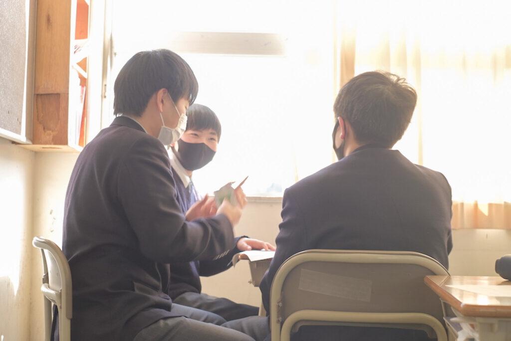 鷲羽高校 授業風景④
