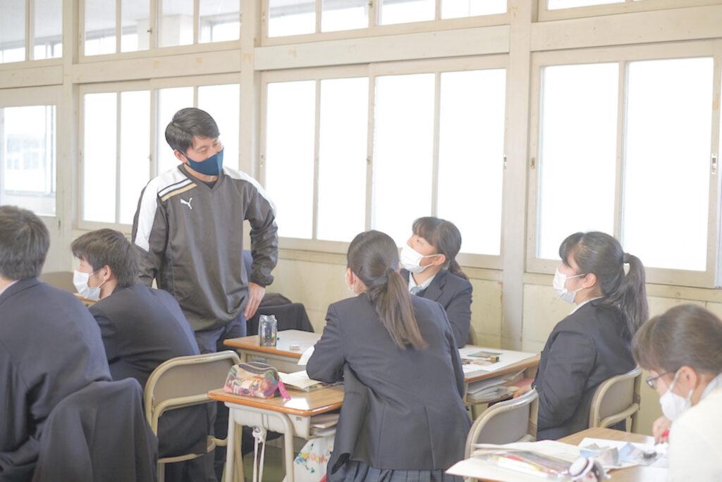鷲羽高校 授業風景⑨