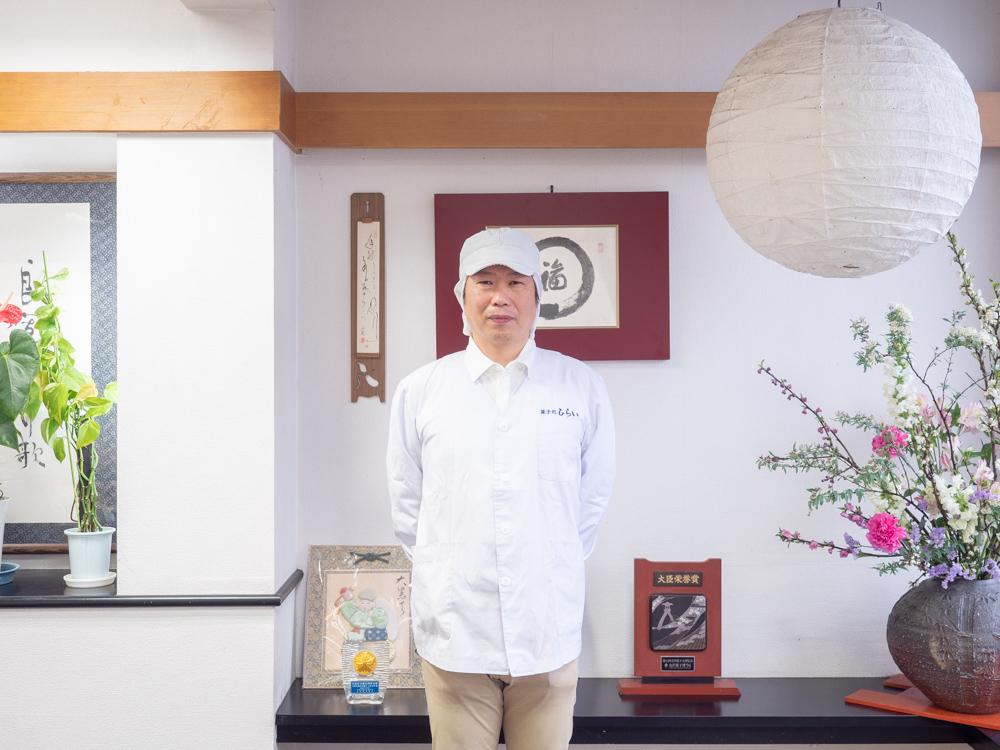 ひらい:代表取締役 平井剛さん