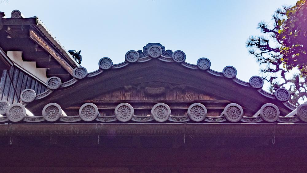 旧柚木家住宅(西爽亭):西爽亭 屋根
