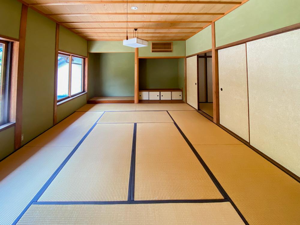 旧柚木家住宅(西爽亭):生涯学習施設(旧母屋) 第2和室