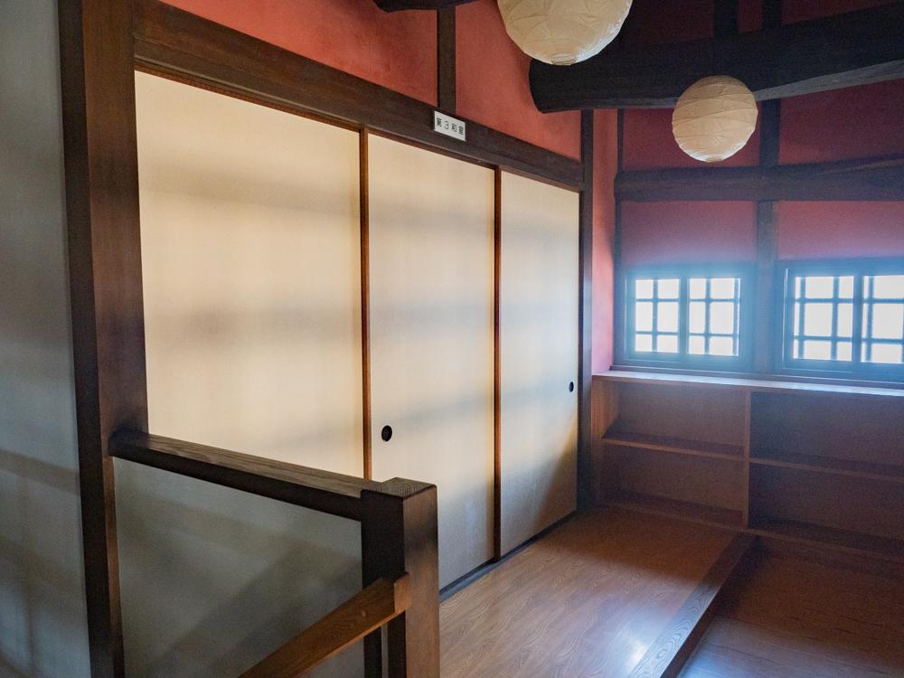 旧柚木家住宅(西爽亭):生涯学習施設(旧母屋) 第3和室