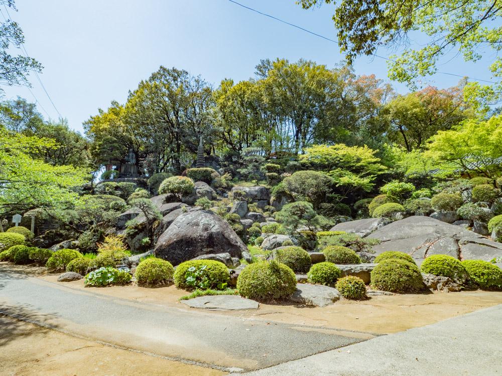 円通寺:石庭