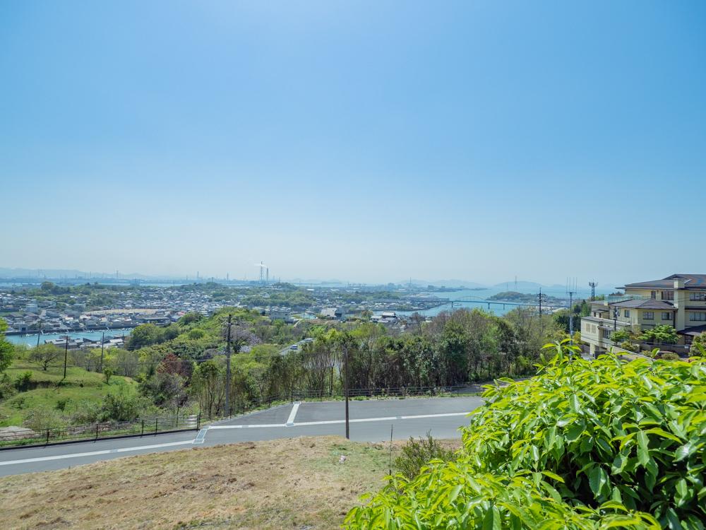 円通寺:白華苑からの眺望