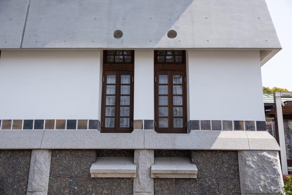 倉敷国際ホテルの窓
