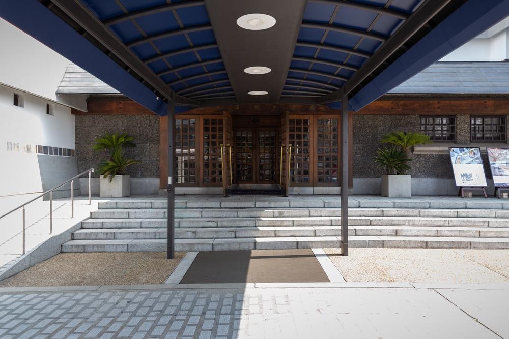 倉敷国際ホテルの入り口