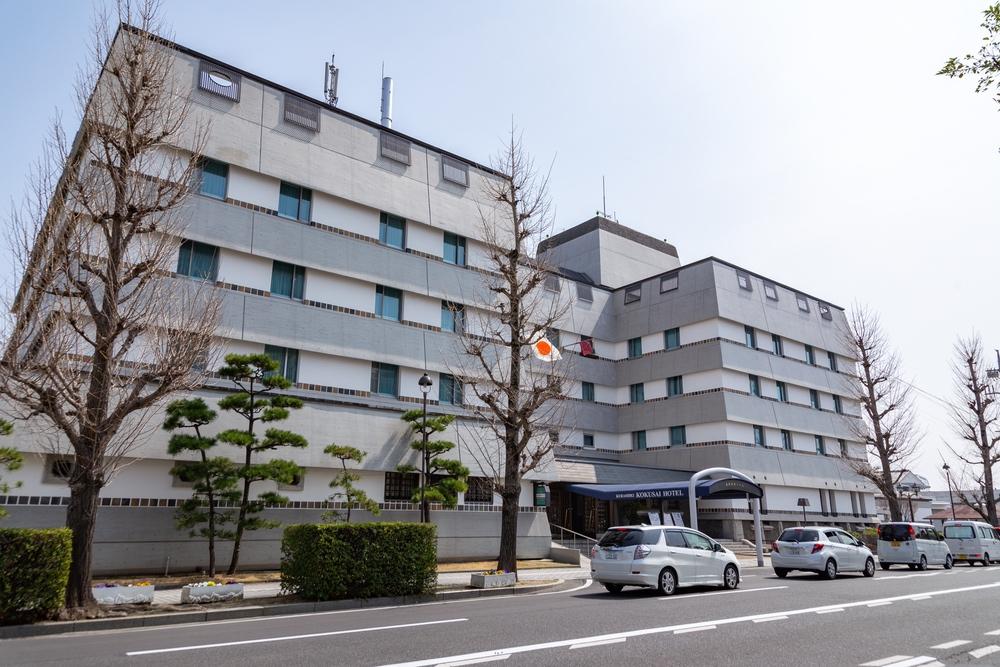 倉敷国際ホテルの外観1