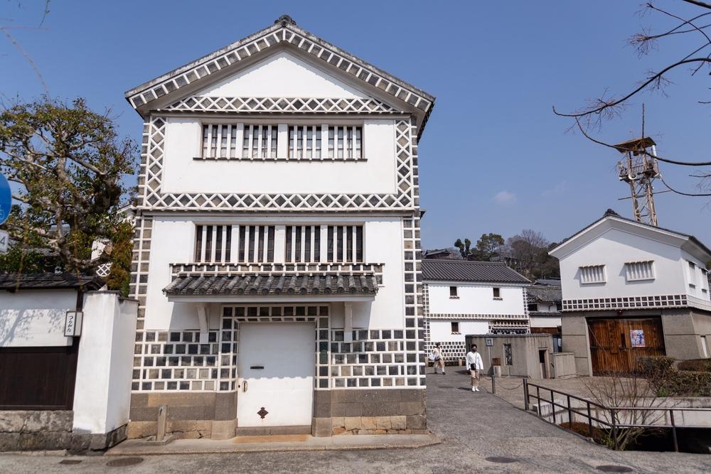 倉敷考古館の正面