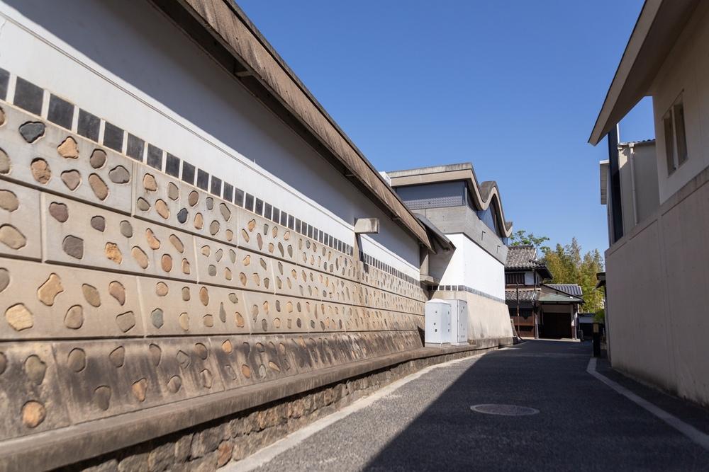 大原美術館分館の外壁