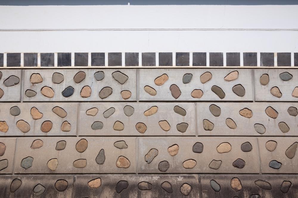 大原美術館分館の壁