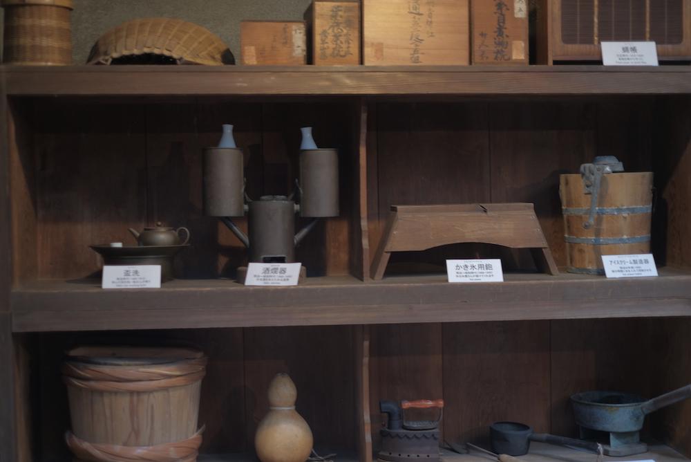 「旧野﨑邸住宅」台所の展示