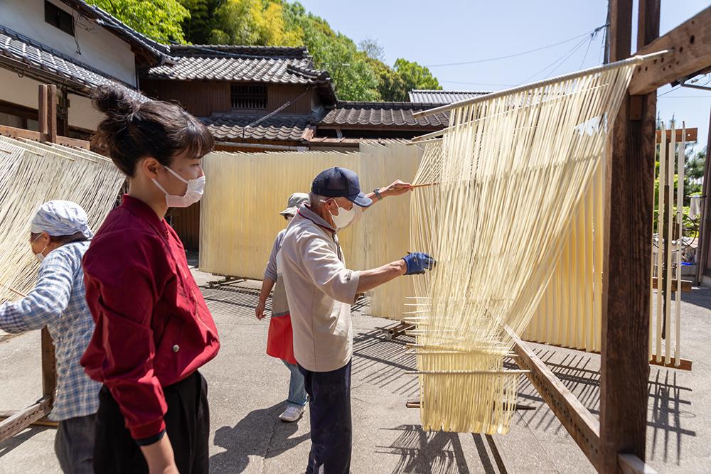 河田賢一製麺工場 体験