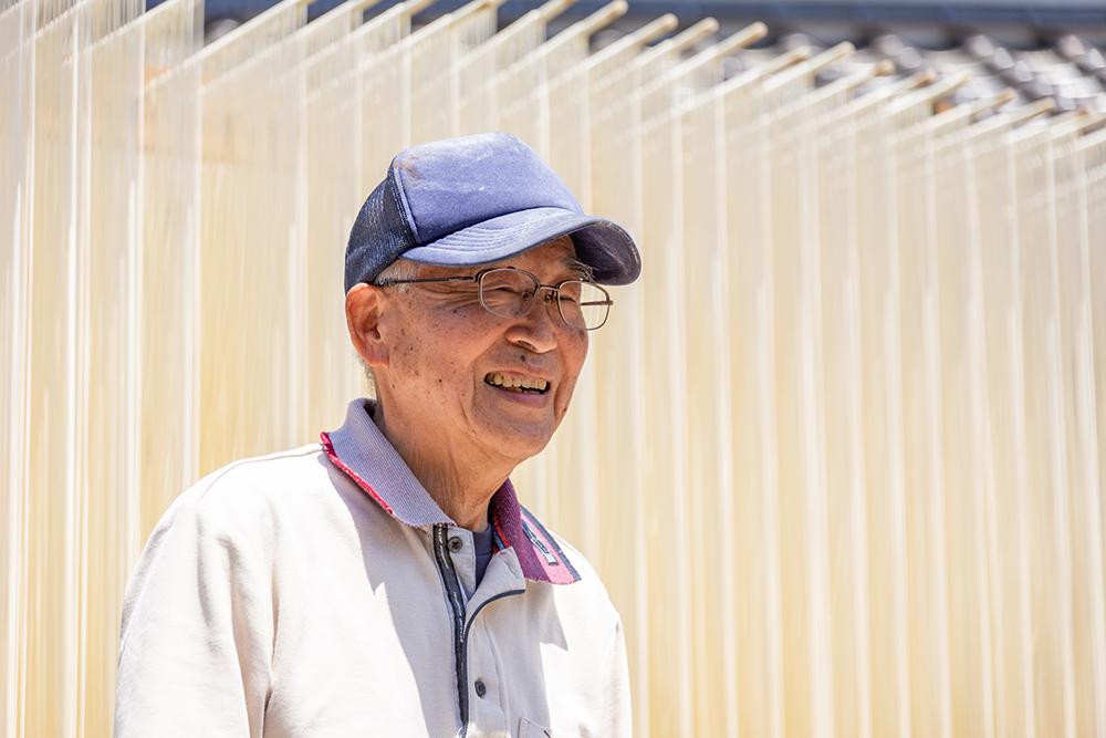 河田賢一製麺工場 河田紘志さん