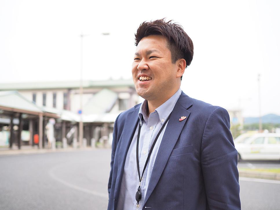 総社市産業部観光プロジェクト課主事・小池 佳央(こいけ よしひさ)さん