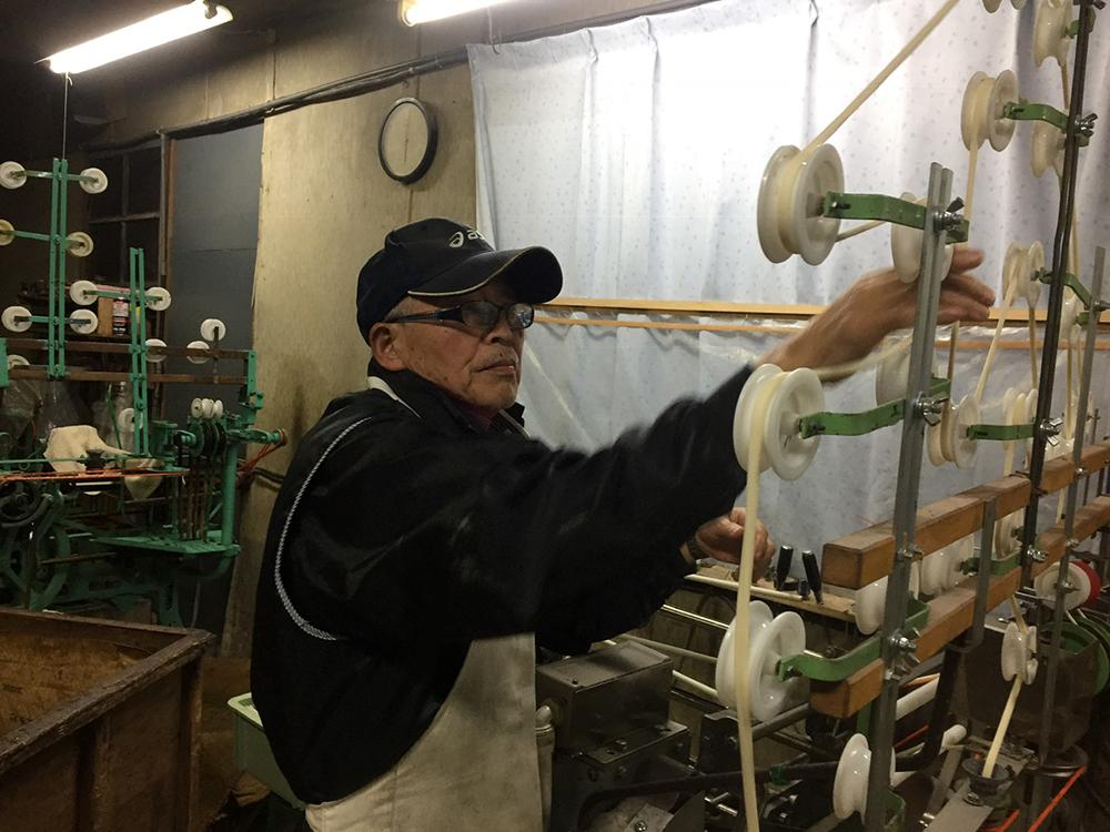河田賢一製麺工場製造工程