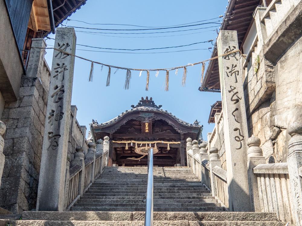 羽黒神社:拝殿