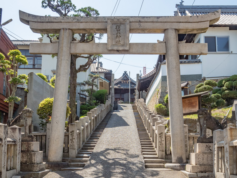 羽黒神社:東参道口