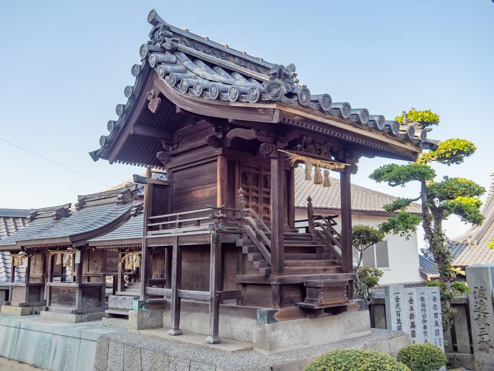 羽黒神社:境内社 熊田神社