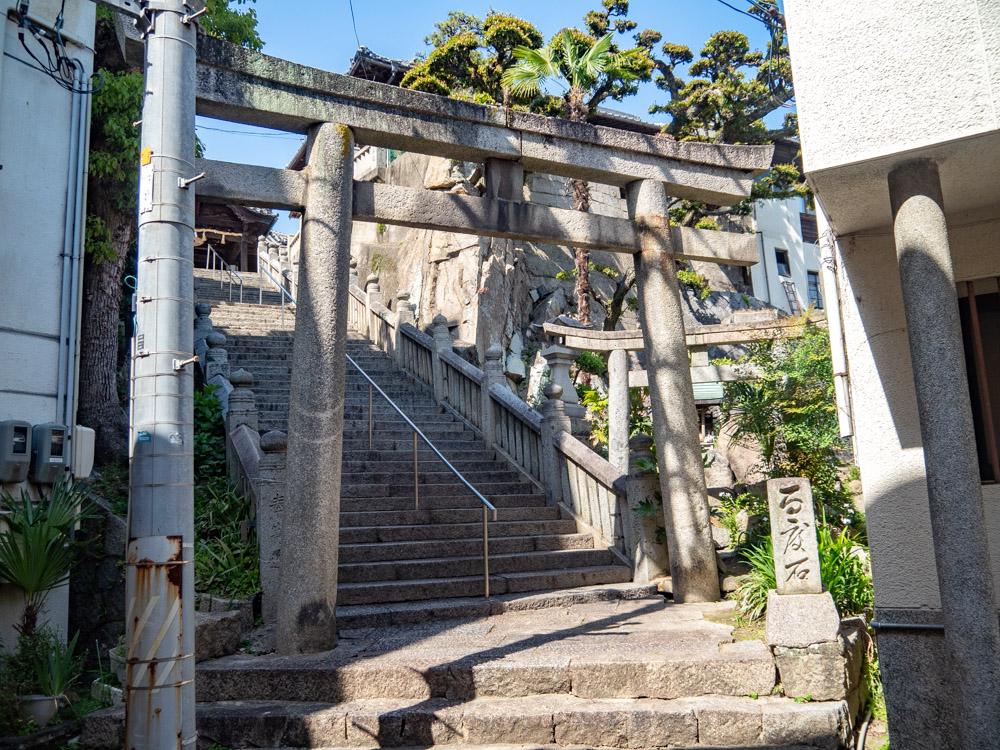 羽黒神社:南参道口