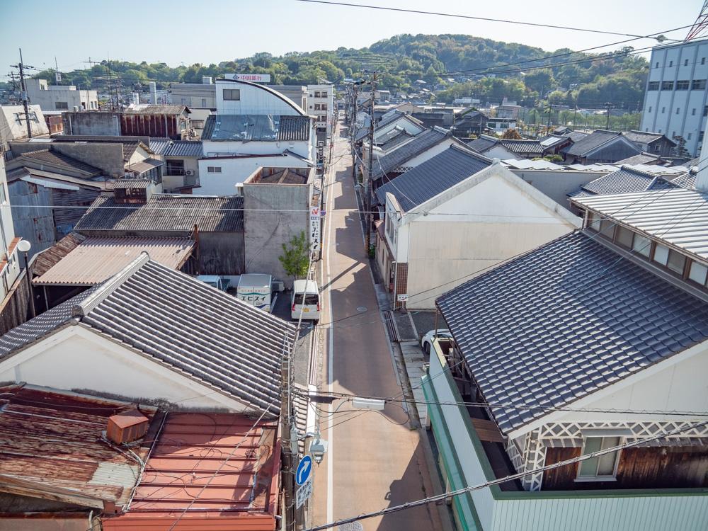 羽黒神社:玉島の町並