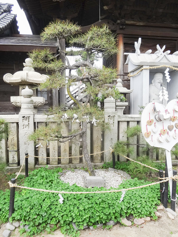 羽黒神社:むすびの松