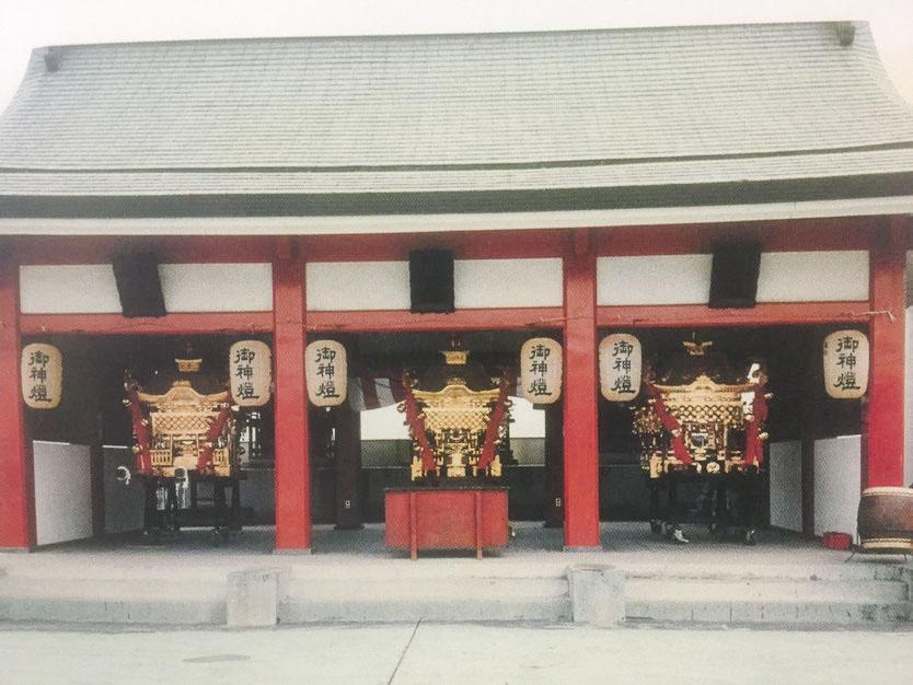 羽黒神社:神輿